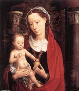 Hans Memling - Standing Virgin and Child