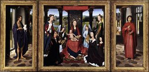 Hans Memling - The Donne Triptych