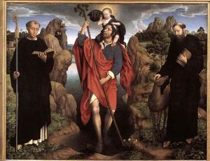 Hans Memling - Triptych of the Family Moreel (central panel)