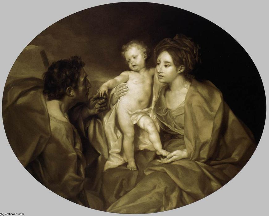 The Holy Family, 1769 by Anton Raphael Mengs (1728-1779, Czech Republic) | Oil Painting | WahooArt.com