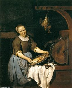 Gabriel Metsu - The Cook