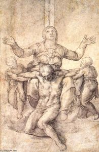 Michelangelo Buonarroti - Study for the Colonna Pietà