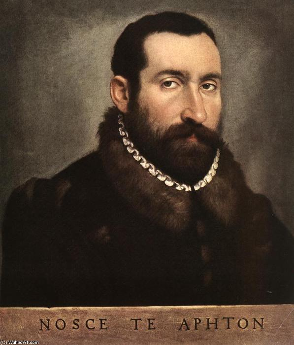 Portrait of a Man by Giovanni Battista Moroni (1525-1578, Italy) | Reproductions Giovanni Battista Moroni | WahooArt.com