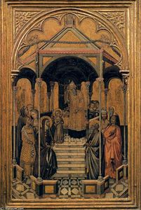 Niccolò Di Buonaccorso - Presentation of the Virgin at the Temple