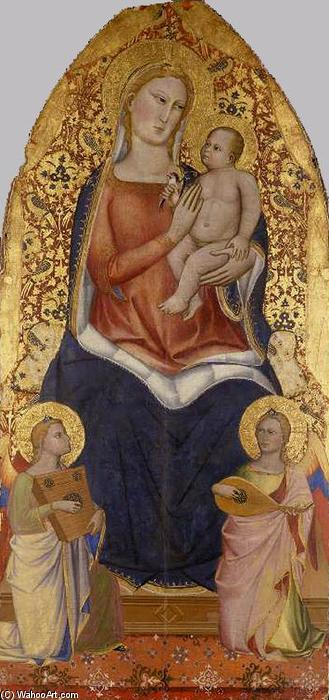 Virgin and Child by Niccolò Di Pietro Gerini (1368-1415, Italy) | Art Reproduction | WahooArt.com