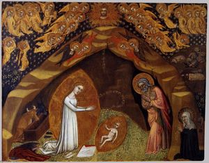 Niccolò Di Tommaso - St Bridget and the Vision of the Nativity
