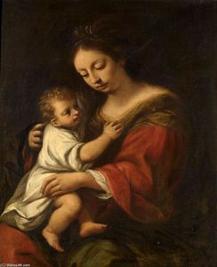 Giuseppe Nuvolone - Madonna and Child