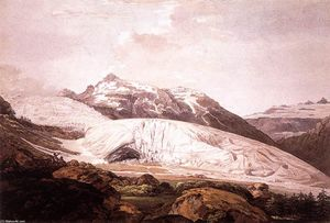 William Pars - The Rhône Glacier and the Source of the Rhône