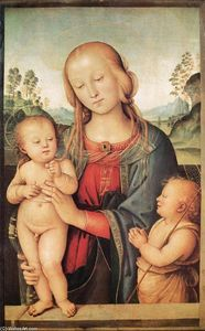 Vannucci Pietro (Le Perugin) - Madonna with Child and the Infant St John