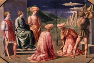 Francesco Di Stefano Pesellino - Beheading of Sts Cosmas and Damian
