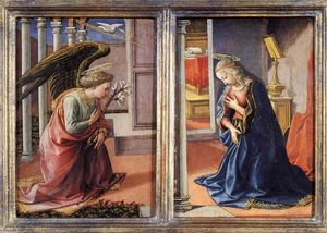 Francesco Di Stefano Pesellino - The Annunciation
