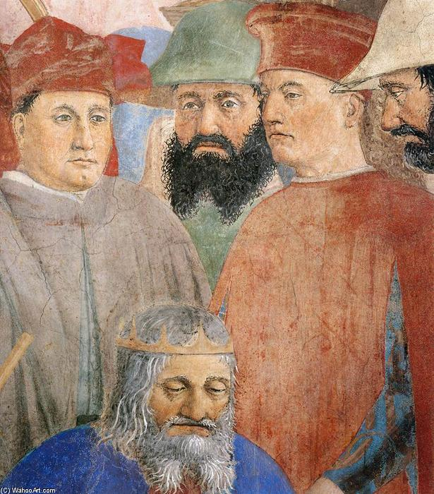 8. Battle between Heraclius and Chosroes (detail) (18), Frescoes by Piero Della Francesca (1415-1492, Italy)