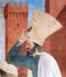 Piero Della Francesca - 9. Exaltation of the Cross (detail)