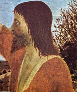 Piero Della Francesca - Baptism of Christ (detail)