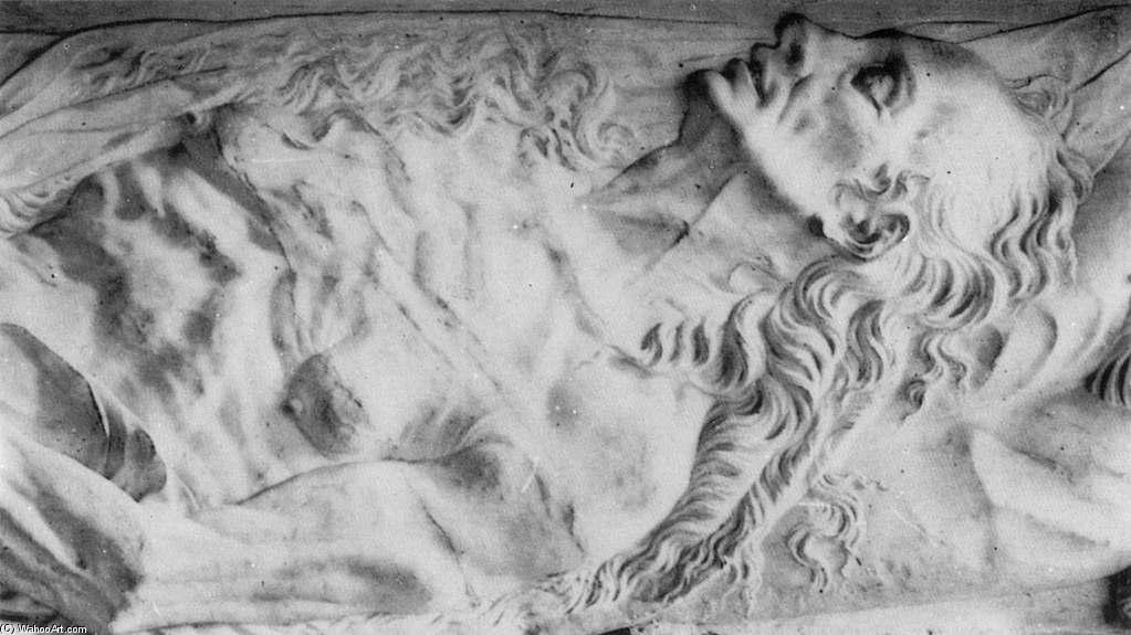 Monument to Valentine Balbiani (detail), Marble by Germain Pilon (1528-1590, France)