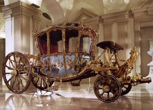 Nicolas Pineau - Golden Carriage