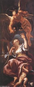 Order Museum Quality Reproductions : Vanity by Domenico Piola (1627-1703, Italy) | WahooArt.com