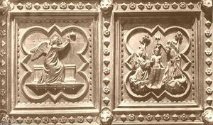 Andrea Pisano - Scenes from the Life of St John the Baptist (panels of the south doors)