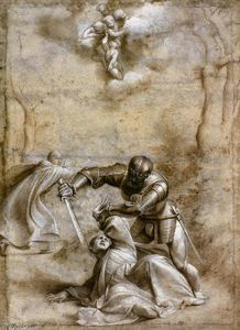 Giovanni Antonio De Sacchis Oril Pordenone - The Martyrdom of St Peter