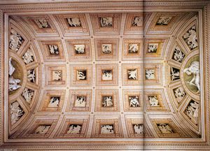 Francesco Primaticcio - Ceiling decoration