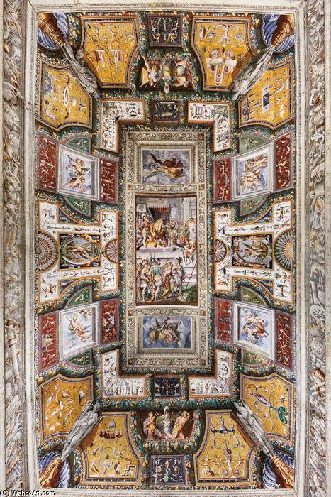 Ceiling decoration, 1570 by Ercole Procaccini The Elder (Ercole I Procaccini) (1520-1595, Italy) | Museum Art Reproductions Ercole Procaccini The Elder (Ercole I Procaccini) | WahooArt.com