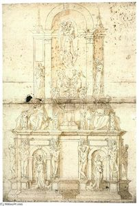 Giacomo Rocca - Michelangelo's Draft for the Tomb of Julius II