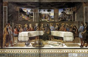 Cosimo Rosselli - The Last Supper