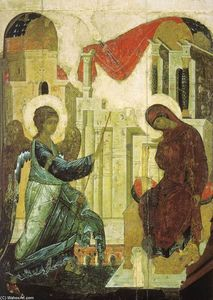 Andrey Rublyov (St Andrei Rublev) - Annunciation