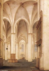 Pieter Jansz Saenredam - The Buurkerk at Utrecht