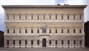 Antonio Da Sangallo The Younger - Façade of the Farnese Palace
