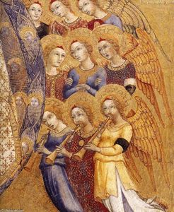 Sano Di Pietro - Assumption of the Virgin (detail)