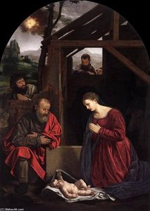 Giovanni Girolamo Savoldo - Adoration of the Shepherds