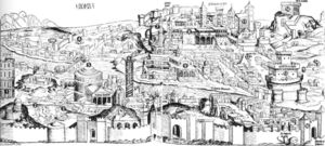 Hartmann Schedel - Nuremberg Chronicle: View of Rome
