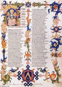 Don Simone Camaldolese - The Divine Comedy by Dante Alighieri (Folio 11)