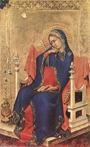 Simone Martini - The Virgin of the Annunciation