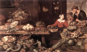 Frans Snyders - Fruit and Vegetable Stall