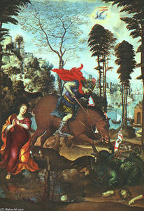 Il Sodoma (Giovanni Antonio Bazzi) - St George and the Dragon