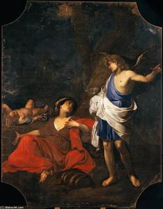 Giovanni Battista Spinelli - Hagar and the Angel