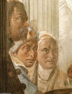 Giovanni Battista Tiepolo - The Banquet of Cleopatra (detail)