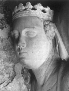 Tino Di Camaino - Tomb of Mary of Valois (detail)