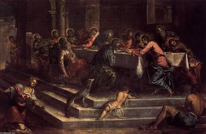 Tintoretto (Jacopo Comin) - The Last Supper
