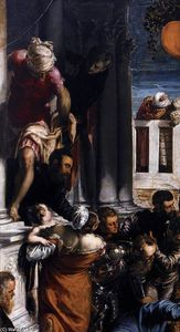 Tintoretto (Jacopo Comin) - The Miracle of St Mark Freeing the Slave (detail)
