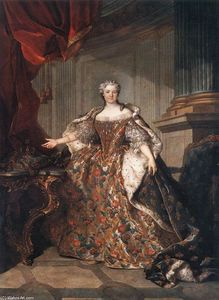 Jean Louis Tocqué - Marie Leczinska, Queen of France