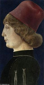 Cosmè Tura - Portrait of a Young Man