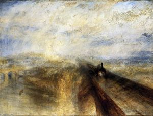 William Turner - Rain, Steam and Speed The Great Western Railway