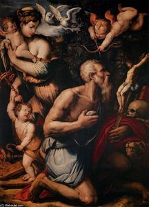 Giorgio Vasari - Temptations of St Jerome