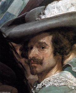 Diego Velazquez - The Surrender of Breda (detail)