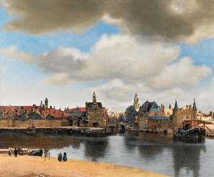Jan Vermeer - View of Delft