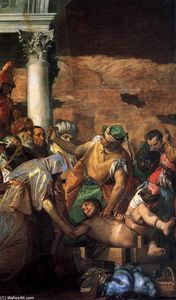 Paolo Veronese - Martyrdom of St Sebastian (detail)