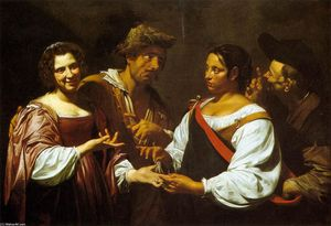 Simon Vouet - The Fortune Teller